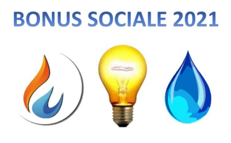 Bonus sociale luce, acqua e gas