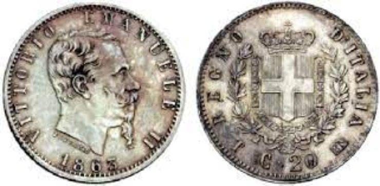 20 centesimi monete rare