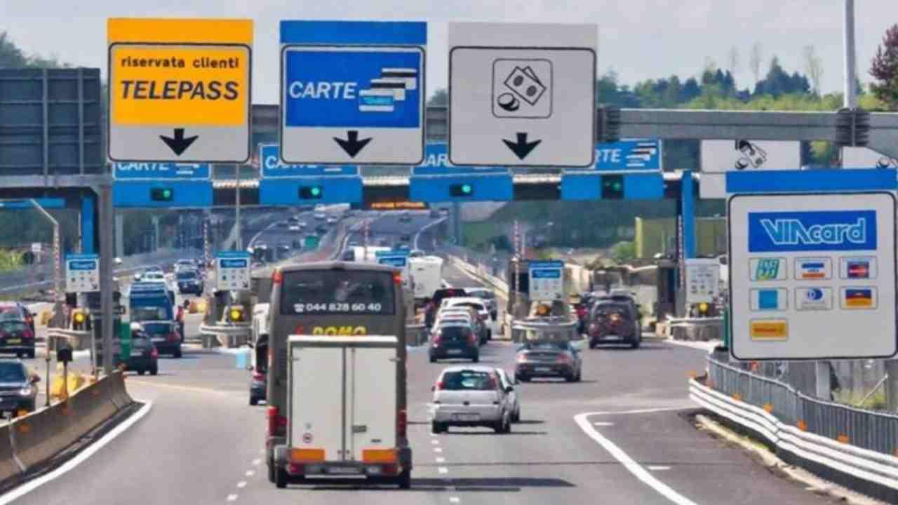 Pedaggi ridotti sulle autostrade