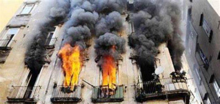 incendi in appartamento