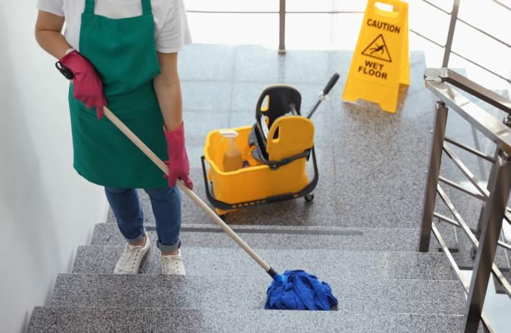 divisione spese pulizia scale