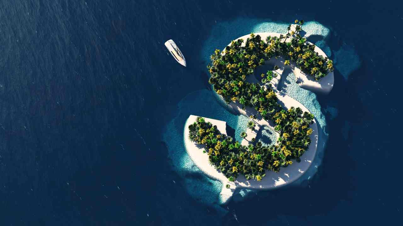 Paradisi fiscali (Foto Adobestock)